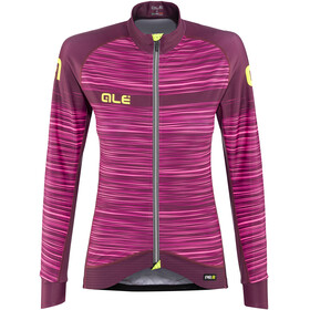 Alé Cycling Graphics PRR The End - Maillot manches longues Femme - rose/violet